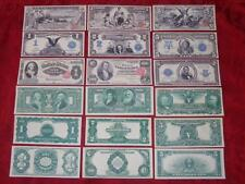 STARTER COLLECTION OF 9 OLD U.S. RARE UNC. SILVER COPY NOTES READ DESCRIPTION!