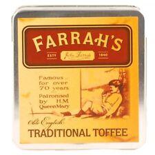 Neuf Farrah's Of Harrogate Traditionnel Caramel en Étain - 100g