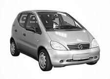 3D Tönungsfolie VORGEWÖLBT Mercedes A Klasse kurz 5 Türer Bj 2001-2004