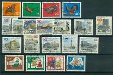 Berlin Jahrgang 1965 , gestempelt ,  Auswahl aus Michel Nr.  250 -  269