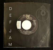 L.L. Cool J Def Jam 68902 It Gets No Rougher and I'm That Type Of Guy EX,