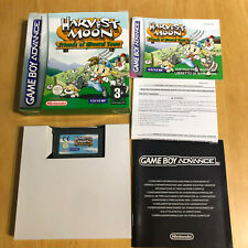 Nintendo Gameboy En Caja GBA COMPLETA MBC-Harvest Moon amigos de Mineral Town