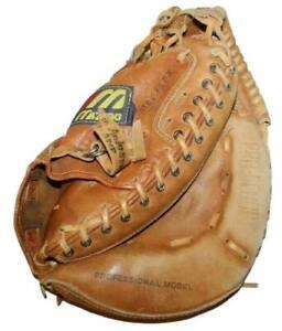 Mizuno MT1200 Catchers Mitt Autograph Model Gary Carter Handcrafted Leather RHT