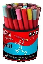 Br30073 Berol Colourbroad Pen Assorted Water Based Ink Tub of 42 CBT S0375970