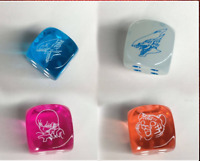 Yu-Gi-Oh!:Legendary Duelists Season 2 Dice Set of 4 Blue-Eyes Dice