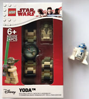 LEGO® Star Wars™ Yoda Minifigure Link Watch With R2-D2 Lego Minifigure