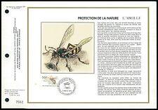 FRANCE CEF 1979 BIENE HONIGBIENE BEE L´ABEILLE ETB ERSTTAGSBLATT z2191