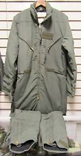 Vintage Mustang Aviation Mac 10 Survival Coverall Large Nomex/Kevlar Flotation