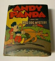 Andy Panda and the Mad Dog Mystery~Better Little Book #1431~Whitman 1945,1947