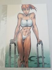 "FAIRCHILD PORTFOLIO CARDSTOCK POSTER CARD 6"" x 9"" ART by J. SCOTT CAMPBELL"