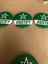 3 Justify Belmont Stakes Pin #JUSTIFY Horse Racing Triple Crown Winner