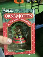 Noma Ornamotion Bear Sitting On Top Ornament