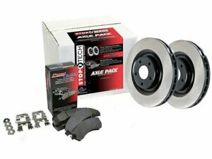 For 1993-1997 Geo Prizm Brake Pad and Rotor Kit Front Centric 78646TK 1994 1995