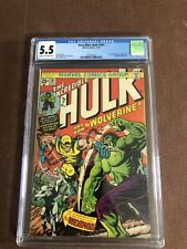 The Incredible Hulk #181 (Nov 1974, Marvel) CGC 5.5
