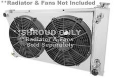 "GMC Jimmy Monster Cooling Aluminum Radiator Shroud, #369 -17""H x 28 1/4""W"