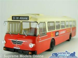 BUSSING SENATOR 12D MODEL BUS COACH 1:43 SCALE IXO GERMANY ALTONA LARGE K8