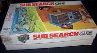Vintage 1973 Milton Bradley Sub Search 3 Level Strategy Game 100% Complete