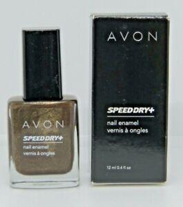 NIB Avon SPEED DRY NAIL ENAMEL POLISH ~ You Choose Color ~ .4 Oz. ~ Old Stock