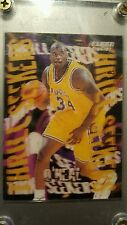 1996-97 Fleer - Thrill Seekers - Shaquille O'Neal Lakers Card