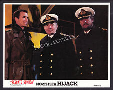 8x10 Lobby Card~ NORTH SEA HIJACK aka ffolkes ~1979 ~Anthony Perkins~James Mason