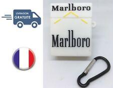 Coque Silicone pour Airpods Airpod Cigarette Marlboro Blanche Livraison Offerte