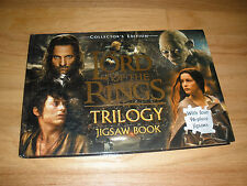 The Lord of the Rings Trilogy Jigsaw Book, Four Lord of the Rings Puzzles