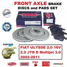 Für Fiat Ulysse 2.0 16V 2.2 JTD D Multijet 3.0 2002-2011 Vordere Bremsbeläge +