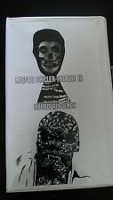 MISFITS Chiller Theater Fiend Club Show VHS Hideous Sun Demon Horror punk RARE