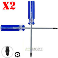 2 Pcs Practical for Xbox 360 Controller Torx T8 Security Screw Driver Repair Kit