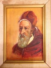 19Th C. Oil Painting On Wood Signed By Isaac  L. Williams