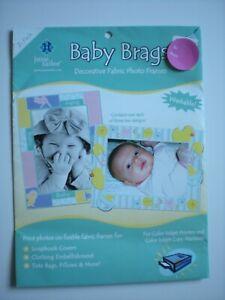 June Tailor Baby Brags Decorative Fabric Photo Frames 2 pk JT-867
