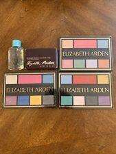 Lot 3 Vtg Elizabeth Arden Luxury Eye Shadow And Cheek Blush Palette Plus More