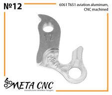 Derailleur hanger № 12, META CNC, analogue PILO D24
