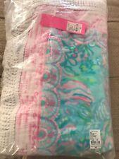 NWT Lilly Pulitzer GWP Oversized Towel Aqua La Vista