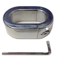Heavy Duty Ball Stretcher Weight 304 Stainless Steel Man Enhancer Ring 10.7OZ