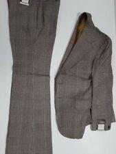 More details for retro vintage check designed suit - one off original circa 1970's suit