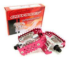 Odyssey Triple Trap Pedals Red