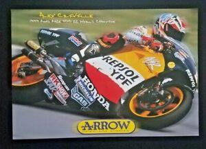Vintage Alex Criville Poster Honda Repsol NSR 1999 500cc World Champion