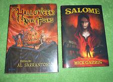 SALOME by Mick Garris & HALLOWEEN: NEW POEMS edited by Al Sarantonio. NEW!