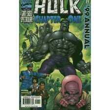 Hulk (1999 series) Annual #1999 in Fine condition. Marvel comics [*ld]