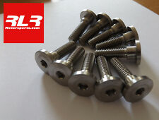 Kawasaki ZX6R  2012-15  Titanium front disc bolt set, 10 bolt set