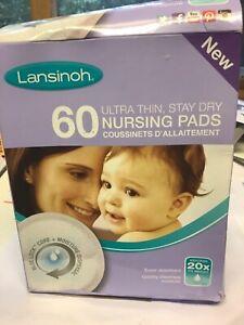 Lansinoh nursing breast pads damaged box
