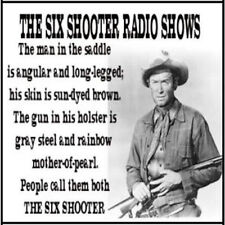 The Six Shooter - 39 OTR shows on DVD Jimmy Stewart