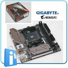 Placa base mITX GIGABYTE B450 i AORUS PRO WIFI Socket AM4 con CHAPA NO ORIGINAL