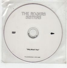 (FV605) The Rogers Sisters, Why Won't You - DJ DVD