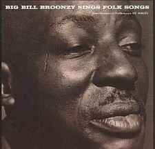 NEW Big Bill Broonzy Sings Folk Songs (Audio CD)