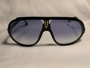 Vintage CARRERA Mod. 5512 90 Black Sunglasses Made in Austria - Authentic