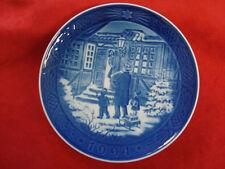 "1994 Royal Copenhagen Rc Christmas Plate "" Christmas Shopping """