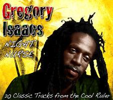 GREGORY ISAACS  ~ 20 CLASSIC TRACKS NIGHT NURSE ~ NEW SEALED CD CARD SLIPCASE