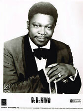 B. B. King - Rare Original Glossy - Circa 1980